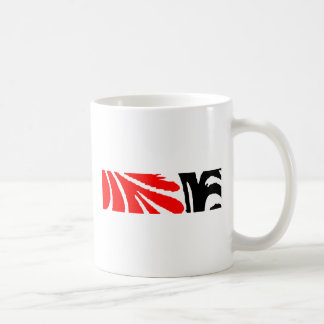 Design 2010-1 Red&Black Greenville The MUSEUM Zazz Coffee Mug