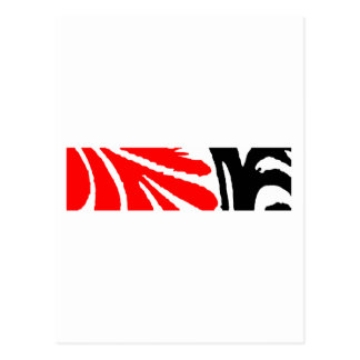 Design 2010-1 Red&Black Greenville The MUSEUM Zazz Postcard