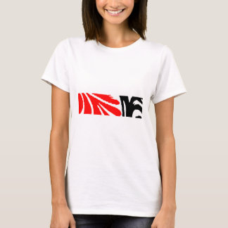Design 2010-1 Red&Black Greenville The MUSEUM Zazz T-Shirt