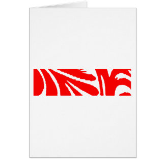 Design 2010-1 Red Greenville The MUSEUM Zazzle Card
