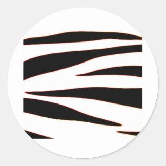 Design 2010-2s1red18-6 Black Greenville The MUSEUM Classic Round Sticker