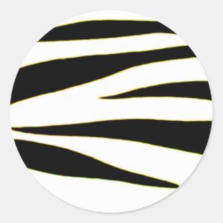 Design 2010-2s1yellow18-6 Black Greenville The MUS Classic Round Sticker