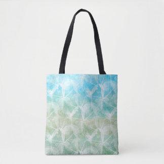 Design 45 blue green tote bag