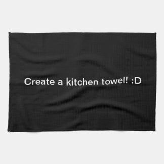 Design A Black Kitchen Towel