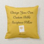 Design A Custom Bible Scripture Pillow