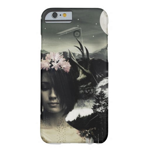 Design a pretty girl of world black IPhone S6/Plus Barely There iPhone 6 Case