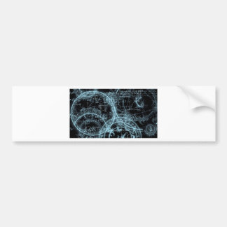 Design Abstracts Arcadia Collection 1 Bumper Sticker