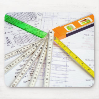 Design and Measuring Instruments Mouse Pad