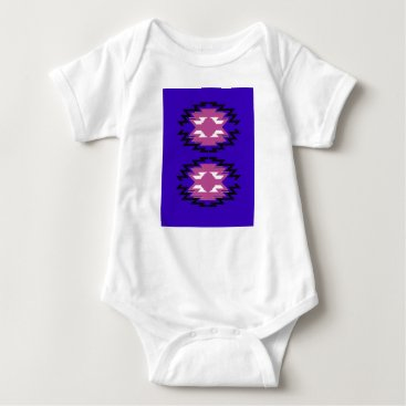 Aztec Themed Design aztecs exotic pattern baby bodysuit