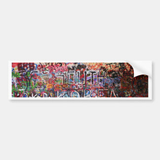 Design Background illustration Bumper Sticker