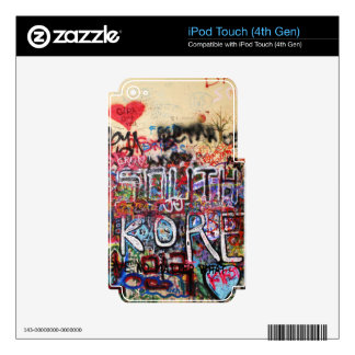 Design Background illustration Decals For iPod Touch 4G
