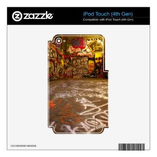 Design Background illustration Skin For iPod Touch 4G