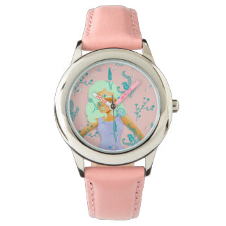 Design Based in Reality Pink Watch