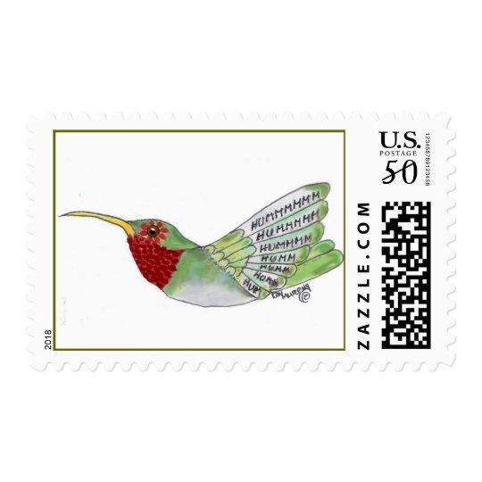 Design Bird Hummer Postage