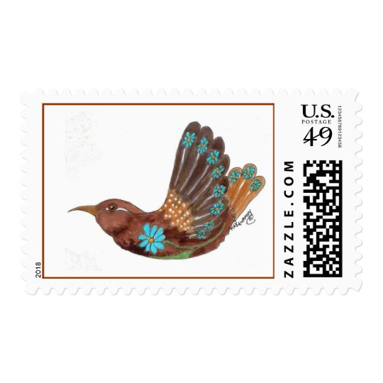 Design Bird Wren Postage