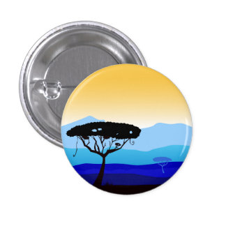 Design button with Hot africa