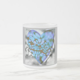 Design by BarbaraM Frosted Glass Coffee Mug