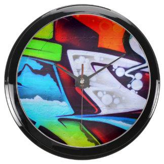 Design By Frank Mothe.2015.Aqua Clock Fish Tank Clocks