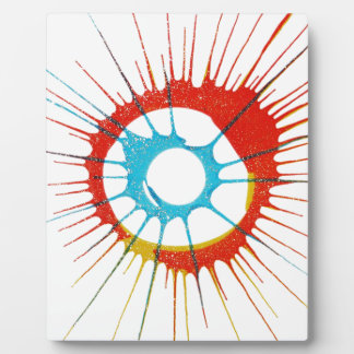 Design Colors Circle, Wall, Shapes Round, Art Styl Plaque