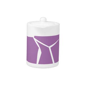 Design cow elements pink teapot