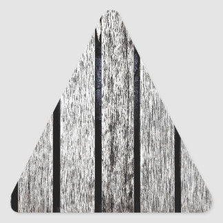 Design Crave Carving Craft wood Natural Texture St Triangle Sticker
