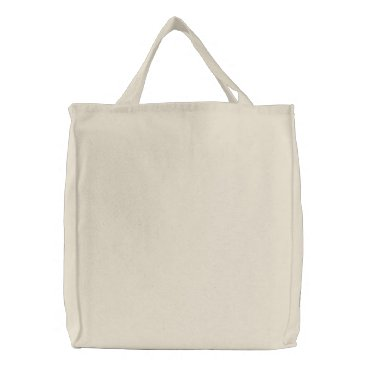 DESIGN CUSTOM CUSTOMIZE BLANK EMBROIDERED TOTE BAG