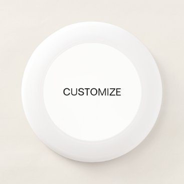 Professional Business DESIGN CUSTOM CUSTOMIZE TEMPLATE  BLANK Wham-O FRISBEE