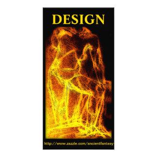 """DESIGN"" Custom Fine Art Photocard Card"