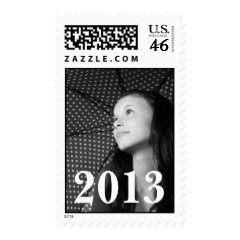 Design Custom Graduation Photo Postage Stamps