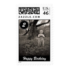 Design Custom Photo Stamps Kids Birthday Christmas