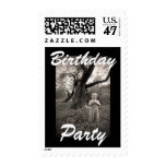 Design Custom Photo Stamps Kids Birthday Party