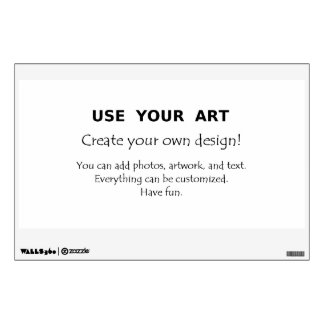Design custom wall decals with your art or photos