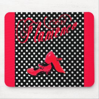 design dances flamenco, modern, alive colors mouse pad