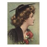 ~Design de la graduación del vintage de la postal