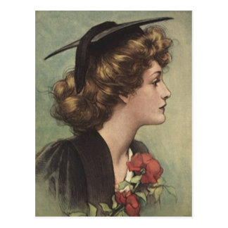 Design de la graduación del vintage de la postal