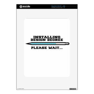 design degree iPad decals