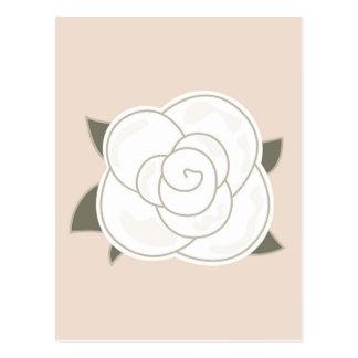 Design edition with Vintage rose Postcard
