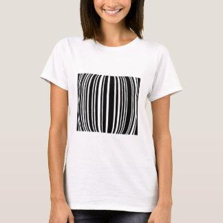 Design element with black stripes T-Shirt