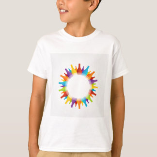 Design element with colorful composition of bottle T-Shirt