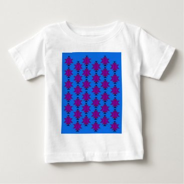 Aztec Themed Design elements aztecs blue baby T-Shirt