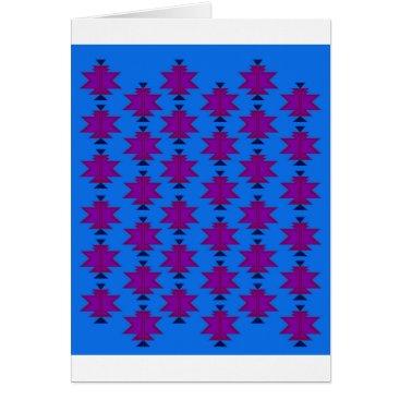 Aztec Themed Design elements aztecs blue card