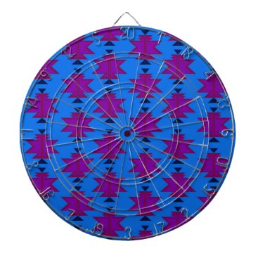 Aztec Themed Design elements aztecs blue dart board
