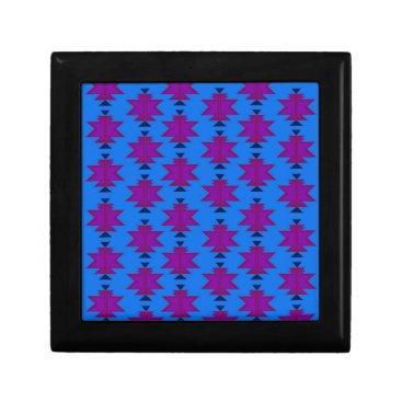Aztec Themed Design elements aztecs blue jewelry box