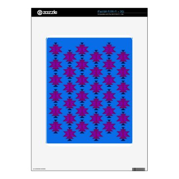 Aztec Themed Design elements aztecs blue skin for the iPad