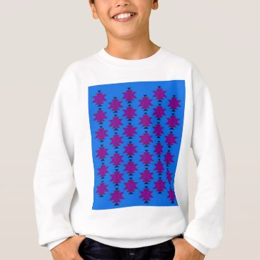 Aztec Themed Design elements aztecs blue sweatshirt