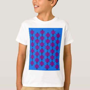 Aztec Themed Design elements aztecs blue T-Shirt