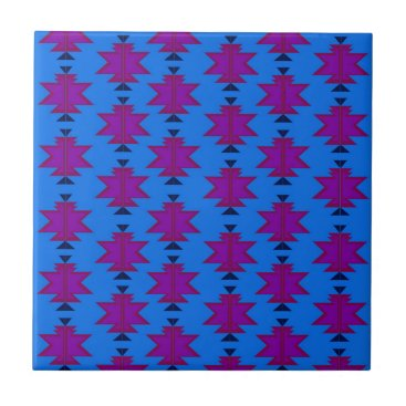 Aztec Themed Design elements aztecs blue tile