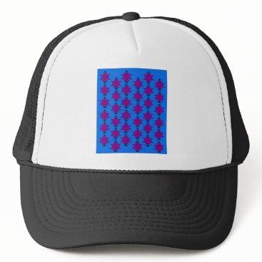 Aztec Themed Design elements aztecs blue trucker hat