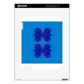 DESIGN ELEMENTS BLUE SKIN FOR THE iPad 2