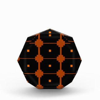 Design elements ethno black, brown award